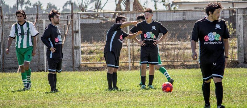CLUB V. BUSTAMANTE ESTRENÓ EQUIPAMIENTO DONADO POR MUNDO PACÍFICO