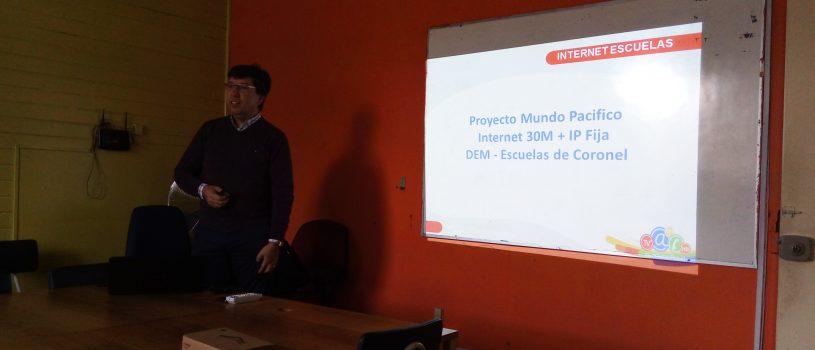 Proyecto adjudicado para escuelas de Coronel