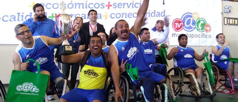 Mundo Pacífico organizó el Primer Campeonato de Básquetbol Inclusivo en Curanilahue