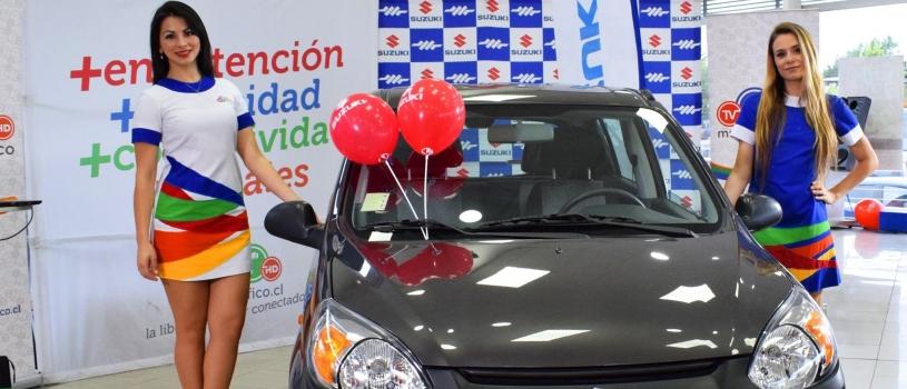 Suzuki Alto que sorteamos junto a Sergio Escobar se lo adjudicó cliente de Cauquenes 7