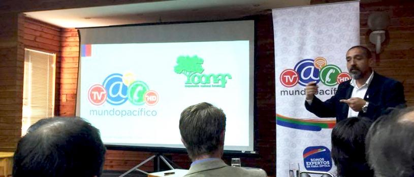 Conaf tendrá full conectividad gracias a internet de Mundo Pacífico 2