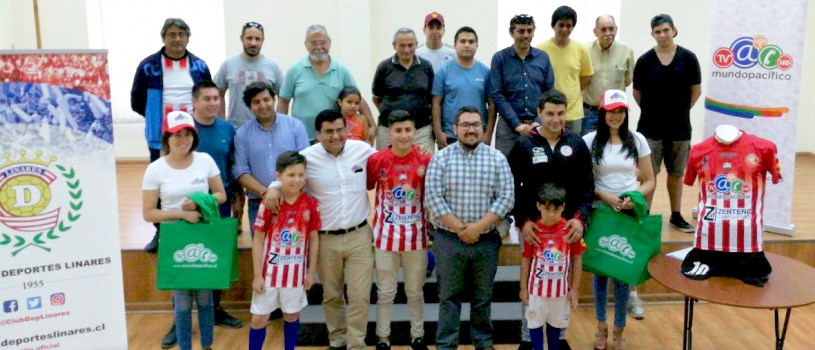 Mundo Pacífico es auspiciador de Deportes Linares