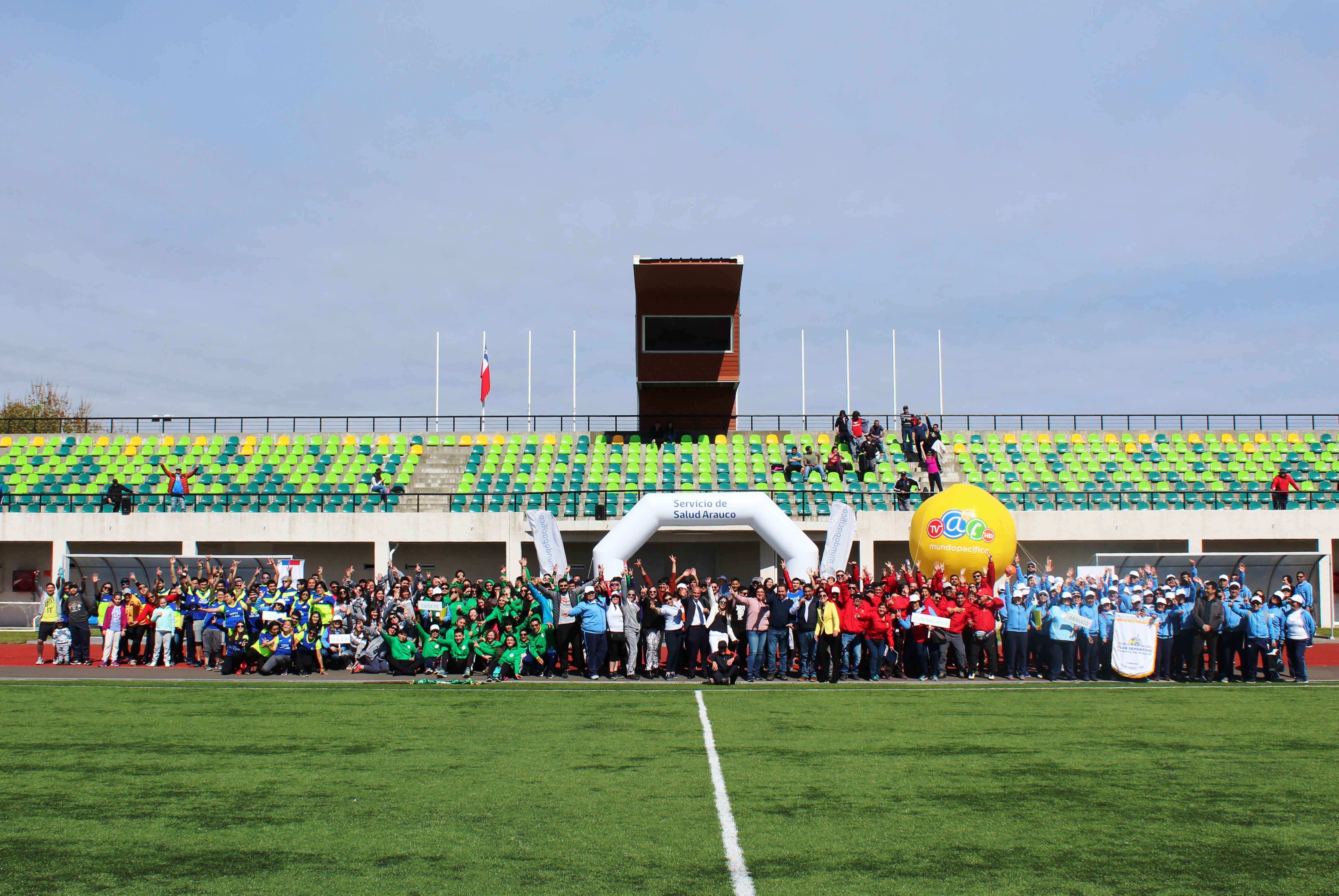 Servicio de Salud de Arauco recibió nuestro apoyo con implementación  deportiva - Mundo Pacífico 32a7b6af3f41a